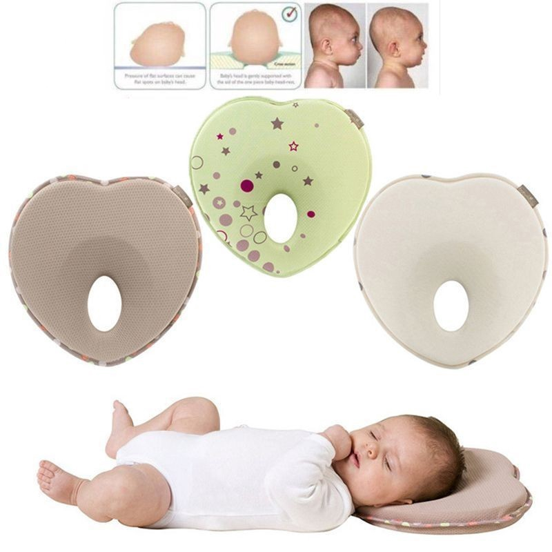 New Baby Stereotypes Pillow Bed Baby Sleep Pad Anti-migraine Pillow Newborn Mattress Pillow Sleep Bed Infant Bed Cotton Pillow Mother & Kids Baby Furniture