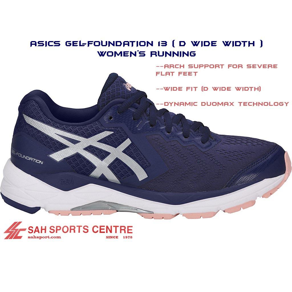Asics Gel Foundation 13 (D Wide Width) Women's Running T864N 4993