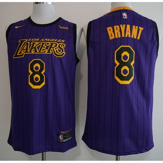 big sale 15cb7 3fbc7 Men NBA Los Angeles Lakers #8 Bryant Icon Edition Swingman ...