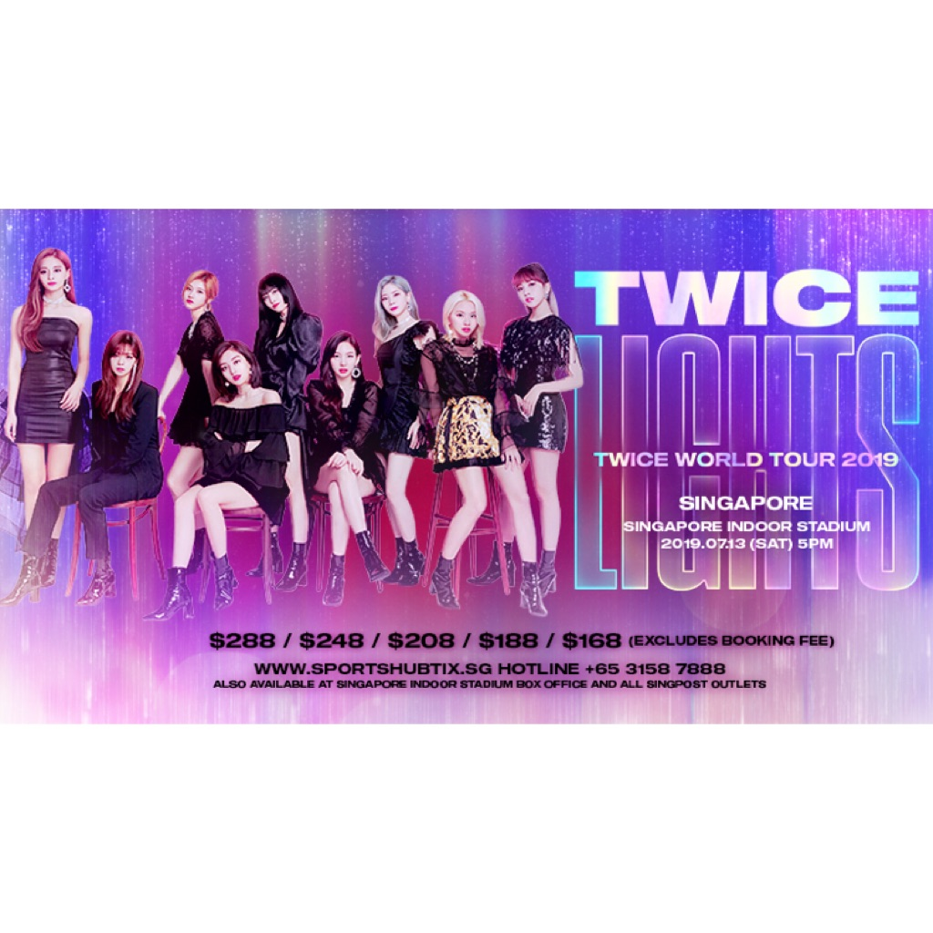 Twice World Tour Singapore Shopee Singapore