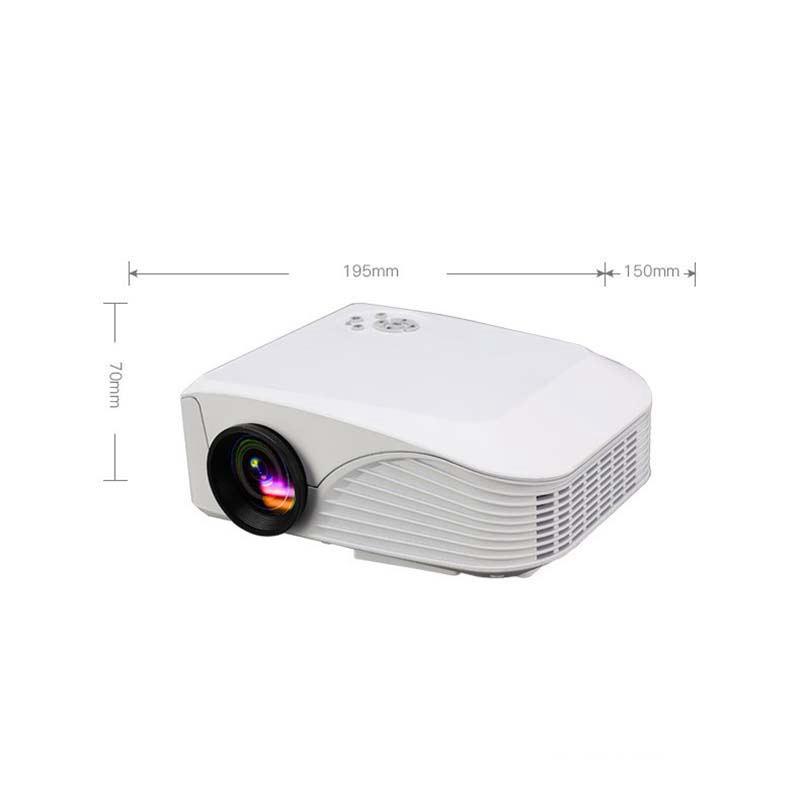 UC28 PRO HDMI Portable Mini LED Entertainment Projector Home Cinema Theater BP
