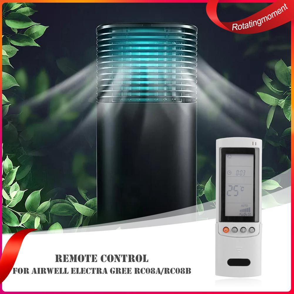 Plastic Air Conditioner Remote Control for Airwell Electra Gree RC08A/RC08B