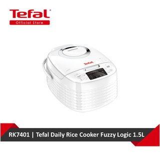 [Shopee Exclusive] Tefal Daily Rice Cooker Fuzzy Logic 1.5L RK7401