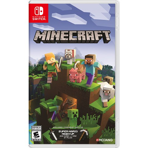 Nintendo Switch Minecraft Cross Play With Pc Xbox One And Smartphones