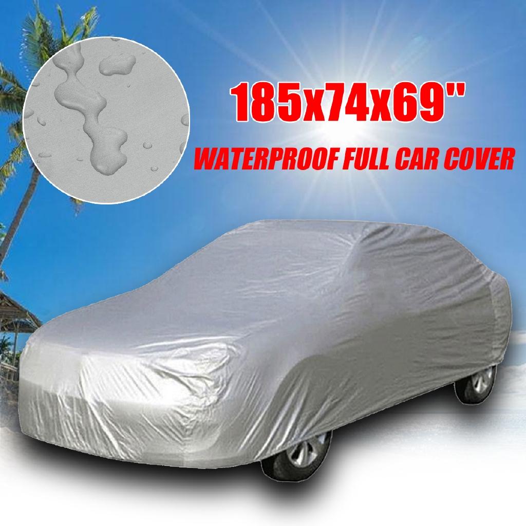 Large Full Cover SUV Van Truck Waterproof Door Dust UV Ray Rain Snow Protector