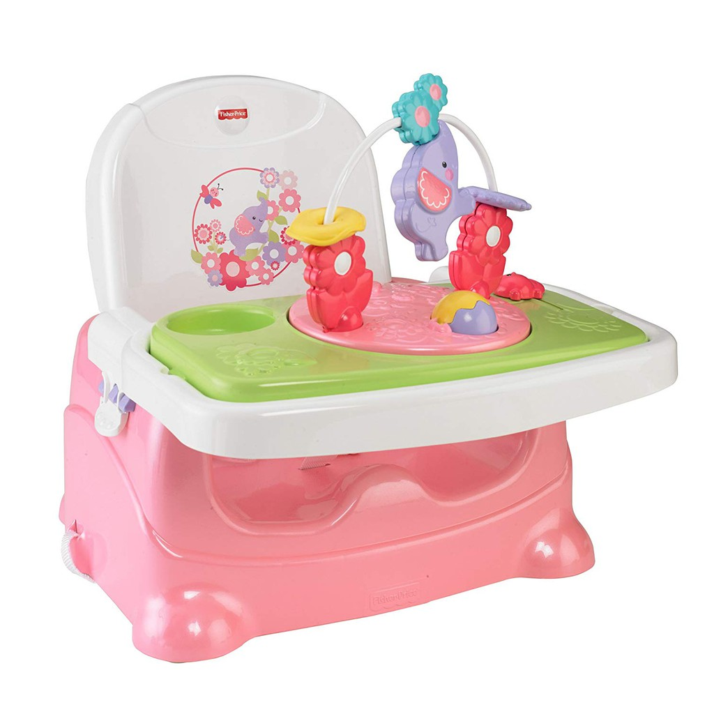 Fisher Price Pretty N Pink Booster Seat Elephant Comotomo 150 Ml Single Pack
