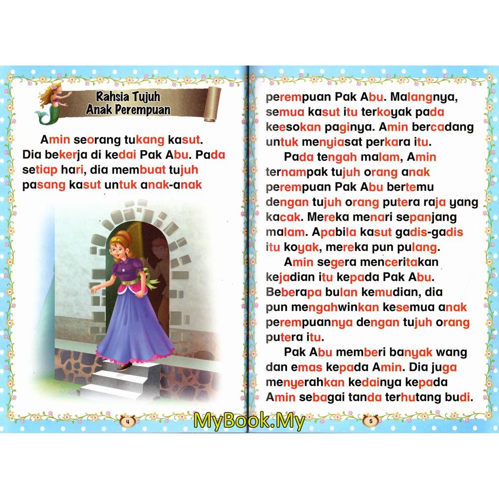 Myb Buku Koleksi Terbaik 30 Cerita Untuk Permata Hatiku Bacaan Dengan Suku Kata Buku 1 Mind To Mind Shopee Singapore
