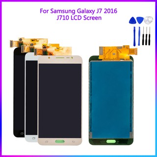 Touch Screen Digitizer For Samsung Galaxy J7 2016 J710 J710F LCD Screen  Assembly