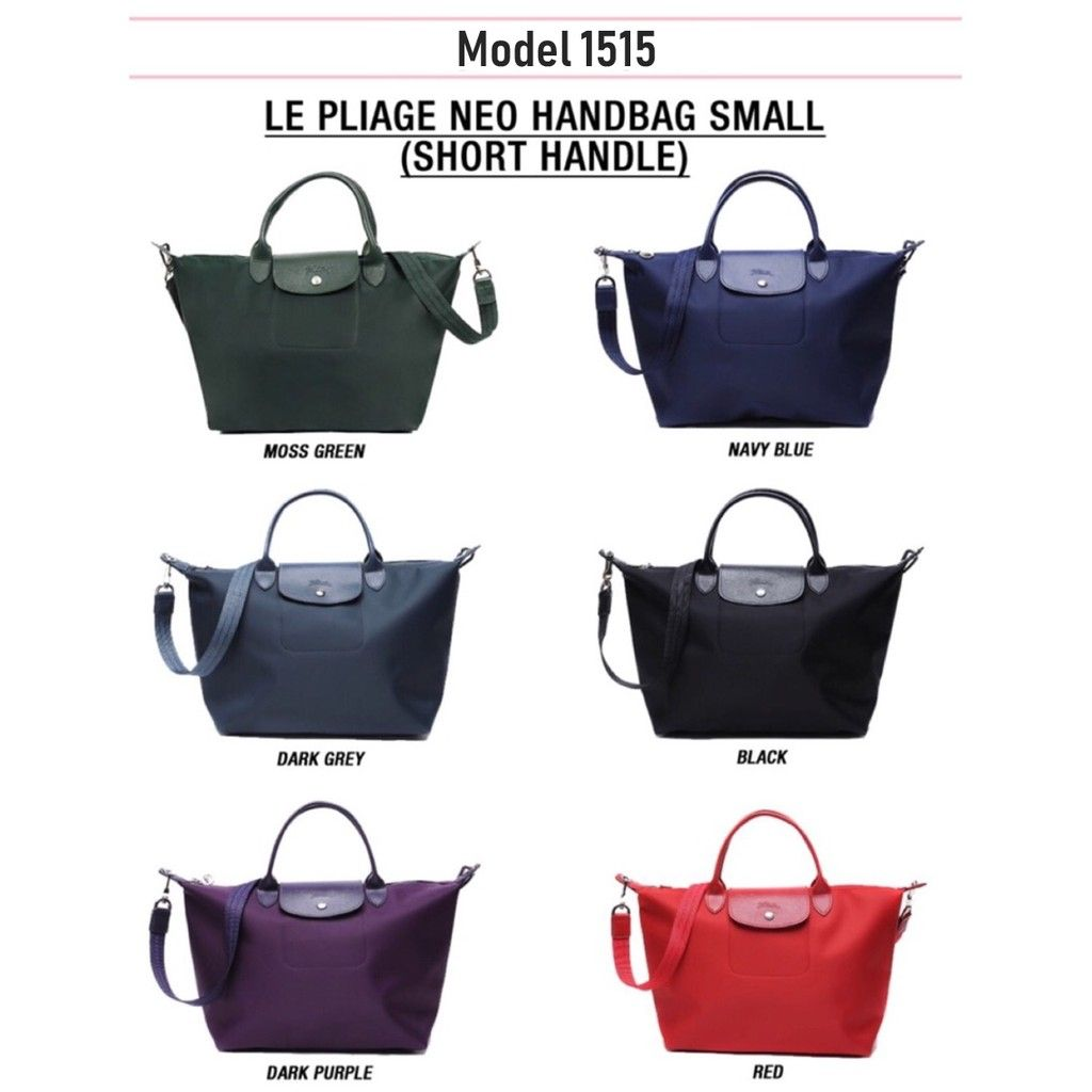 5808b8749863 Authentic Longchamp Le Pliage Neo 1515 Medium   1512 Small - 19 ALL Colors