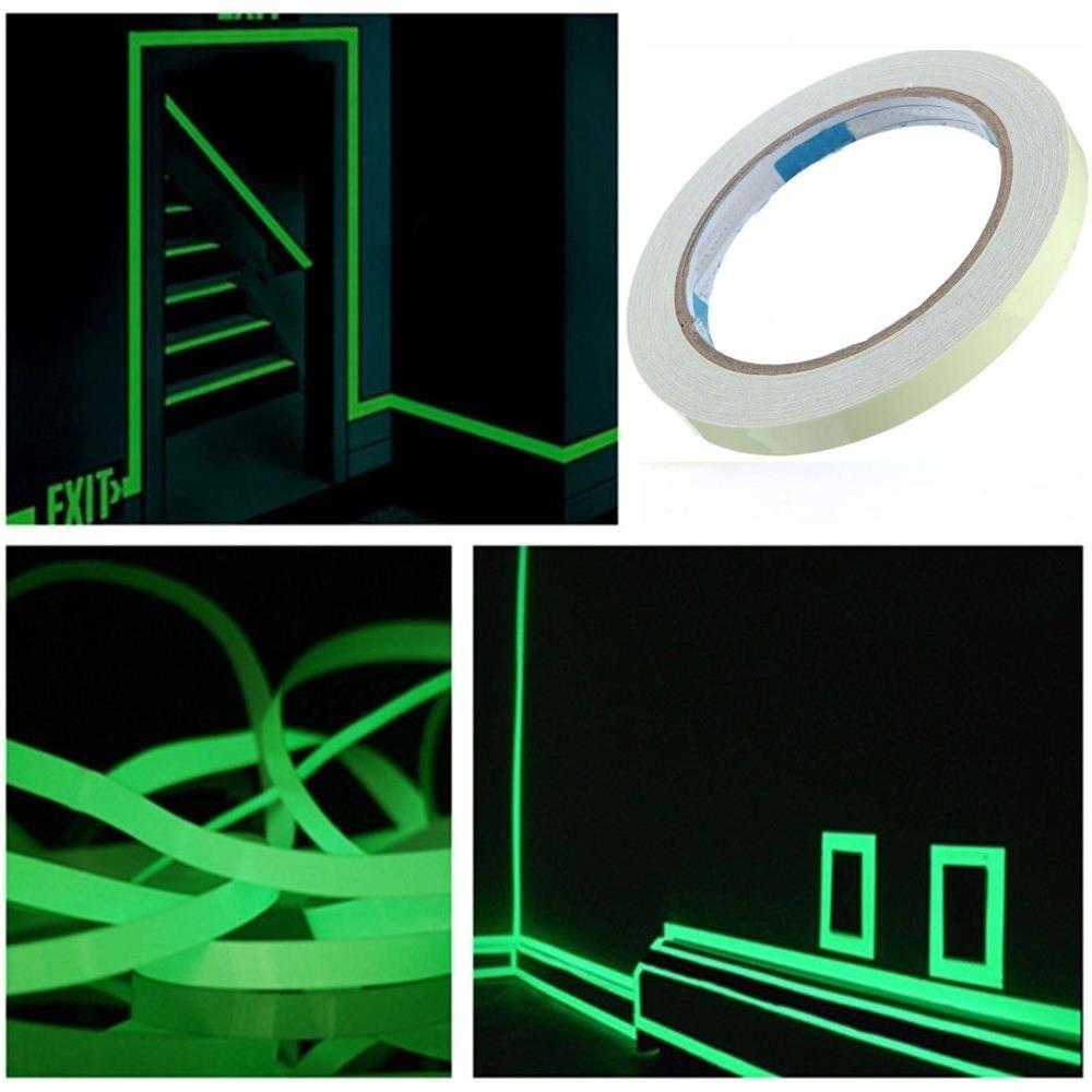 Anti Slip Strips Shower Stickers Glow In The Dark Bath Safety T Photoluminescent