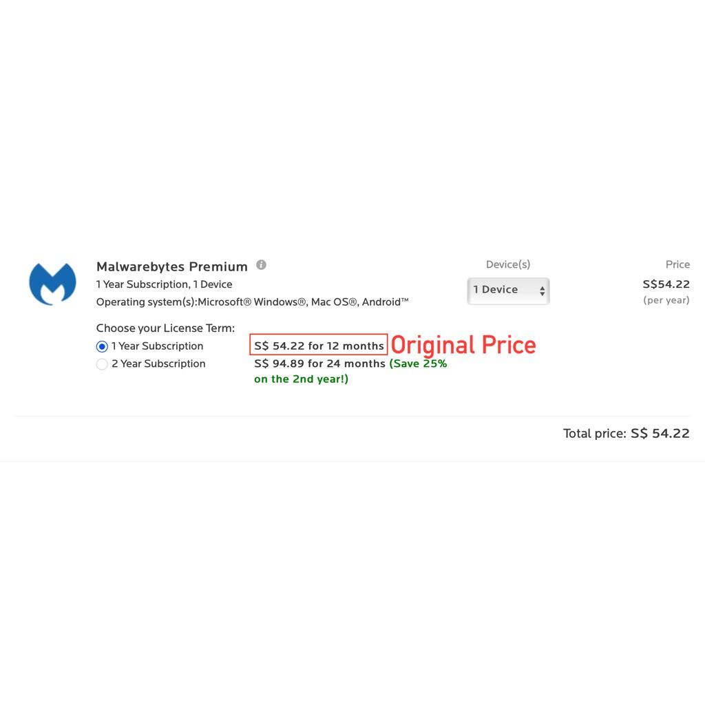 Malwarebytes Premium [Windows OS]   Shopee Singapore