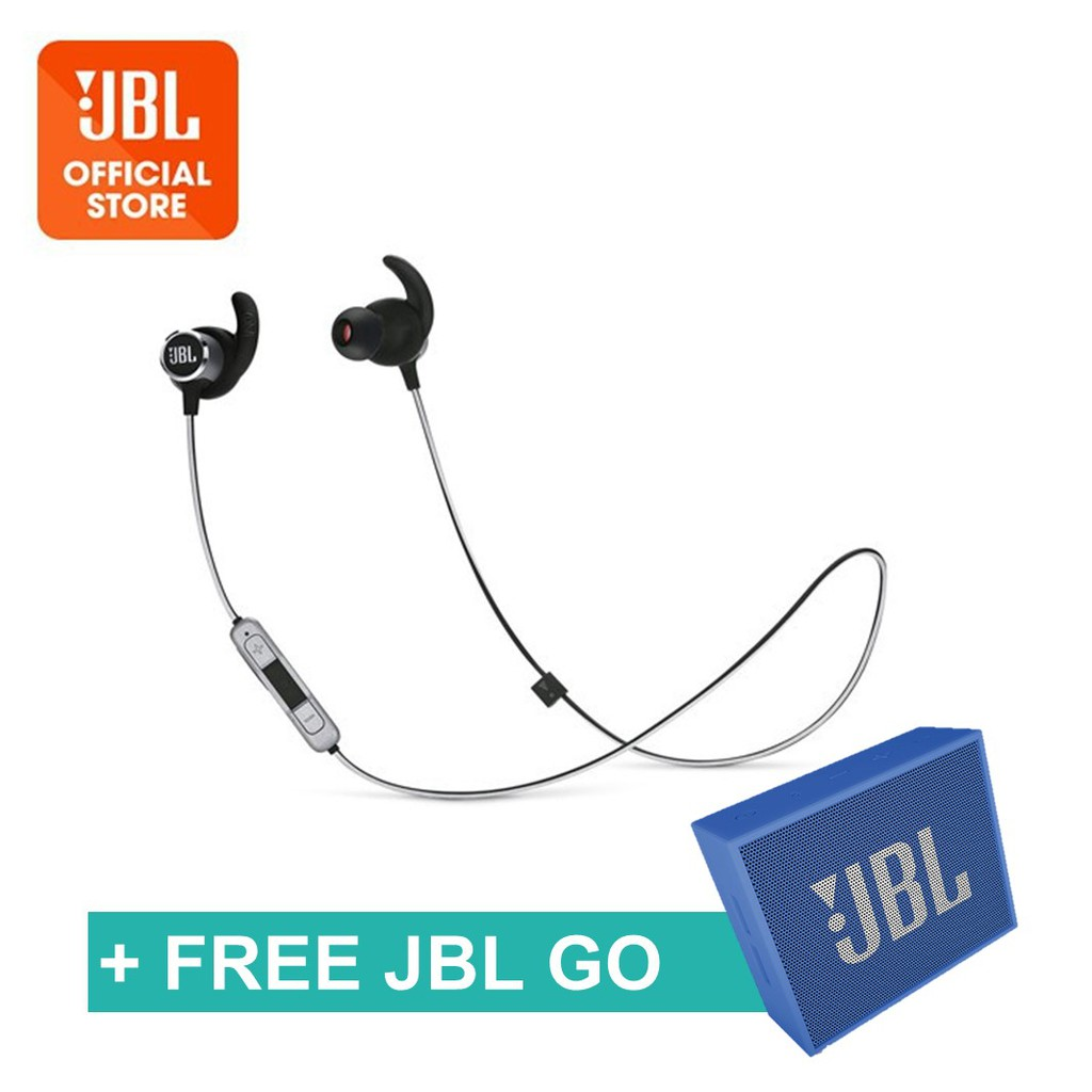 b5a6f094589 JBL Reflect Mini 2 Sweatproof Wireless Sport In-Ear Headphones | Shopee  Singapore