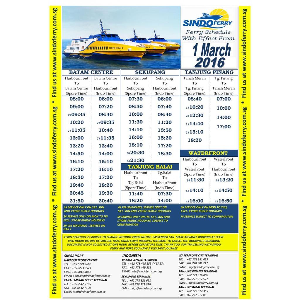Batam Ferry Ticket | Shopee Singapore