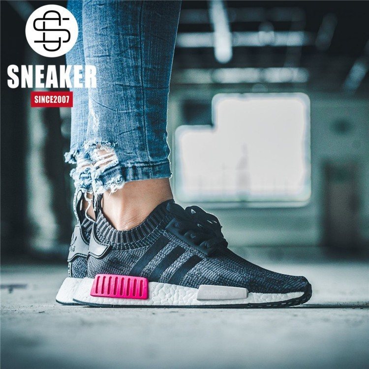 13f7163cc75c6 ProductImage. ProductImage. Authentic Adidas clover NMD R1 PK boost couples  BB2364 running shoes