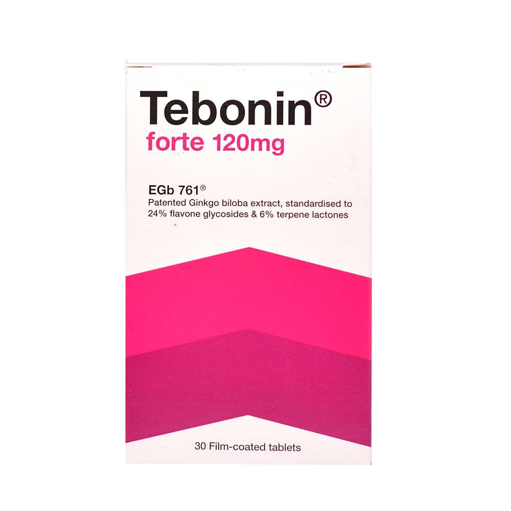 TEBONIN FORTE TABLET 120MG 30'S/BOX