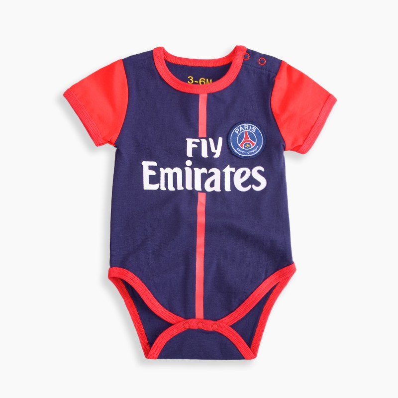 abfd84104 Newborn Baby Romper Real Madrid No.7 Cristiano Ronaldo Jersey Football  Clothes | Shopee Singapore