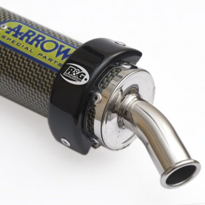 R&G 125cc Exhaust Protector (EP0013BK)