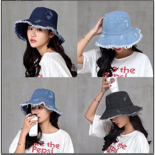 e25a238d8e3 Bucket Hat Fisherman Hats Women Outer Street Hip Hop Dancer Sun Beach hat