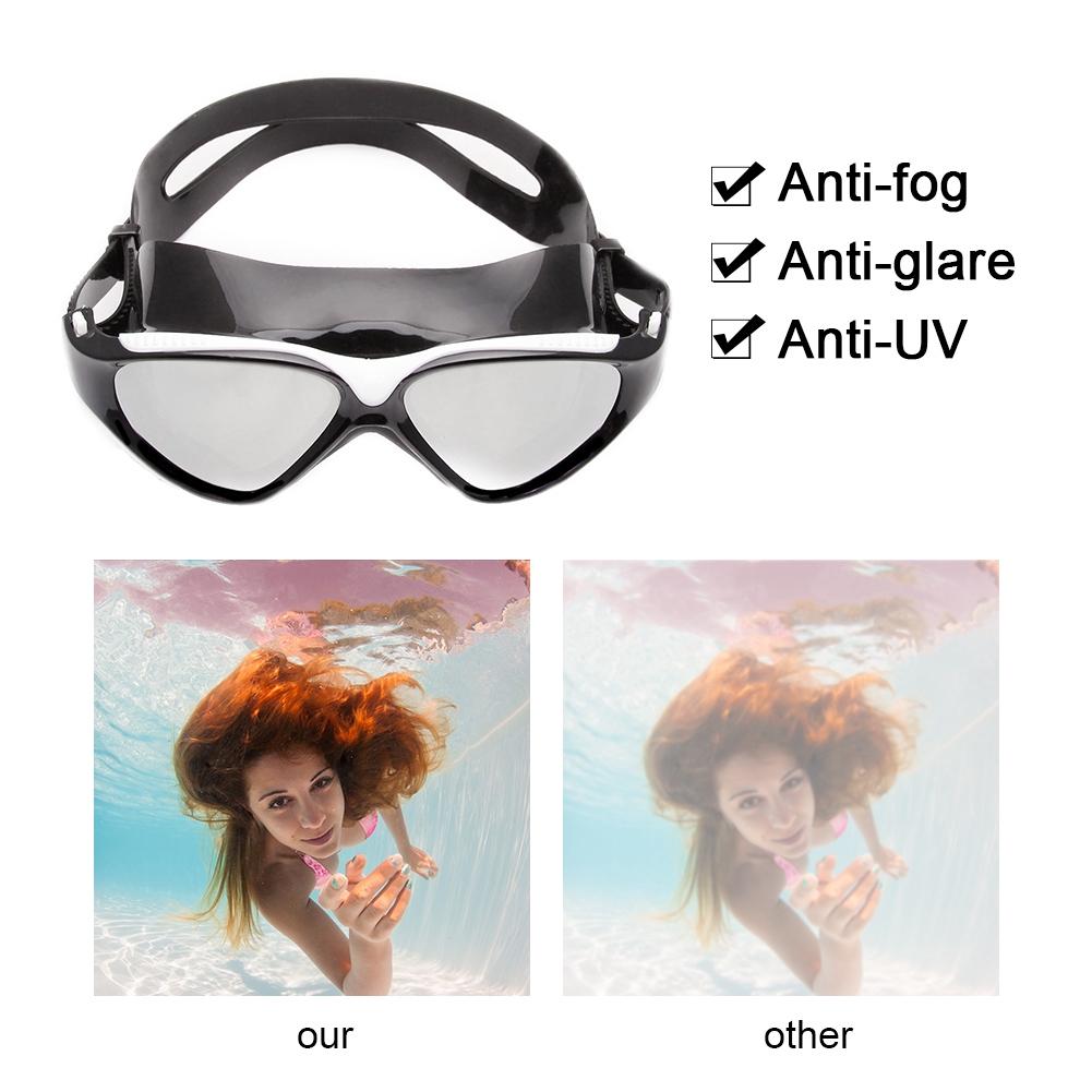 11329a91ead Li Ning Anti-Fog Myopia Prescription Power Swimming Goggles Swim Diving