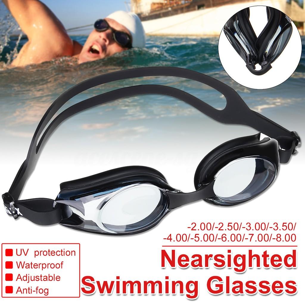 ae4cfb63787 Prescription Swimming Goggles Underwater Degree Len Glasses