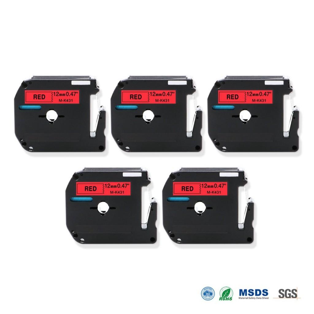 3pcs 18mm Tze 241 Brother P Touch Label Tape Black On White S241 Maker Ribbon Shopee Singapore