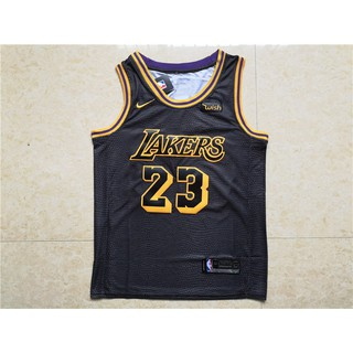 best service 6d232 3433d Nike NBA 18/19 L.A.Lakers NO.23 LeBron James Short-sleeved ...
