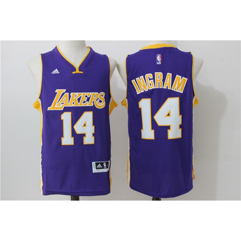 55e652fdff7 Nice Nike Lakers #14 Brandon Ingram Royal Blue NBA Swingman Hardwood  Classics Jersey Outlet | Shopee Singapore