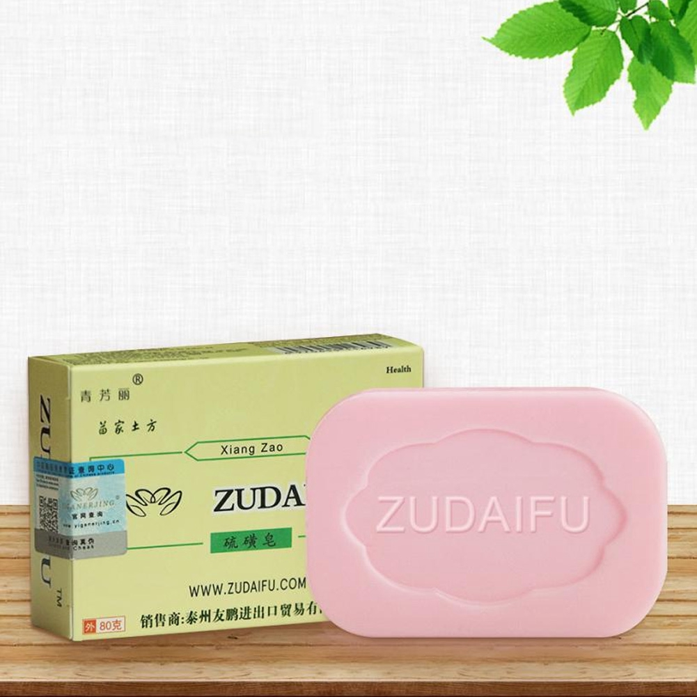 Cleansers Bath & Shower 1pc Drug Bactericidal Sulphur Soap Skin Care Dermatitis Fungus Eczema Anti Bacteria Fungus Shower Bath Washing Whitening Soaps Top Watermelons