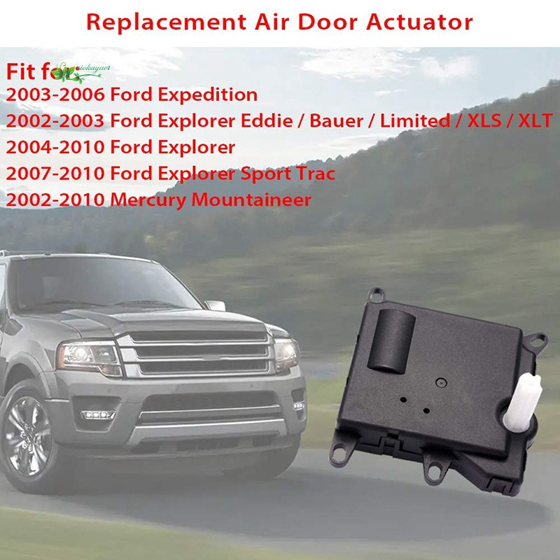 A//C Heater Blend Door Actuator 604-209 for Ford Explorer Expedition 1L2Z19E616CA