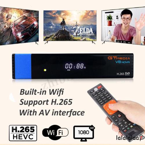 LAL-DVB-S2 GTMEDIA V7S 1080P Digital Satellite TV BOX