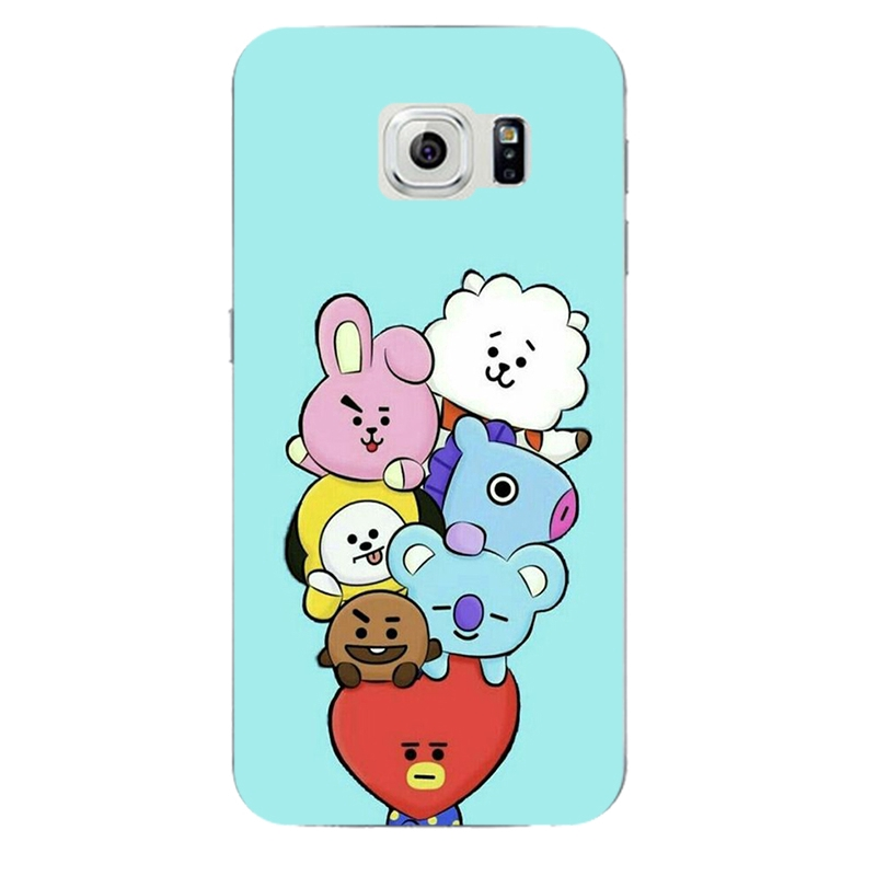 Silicone Phone Case Samsung Galaxy M40 S6 S7 Edge J2 J4 J7 Core