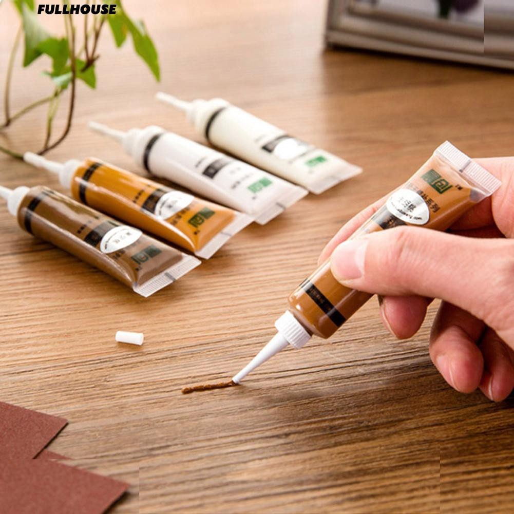 15g Solid Wood Furniture Refinishing Paint Wooden Floor Color