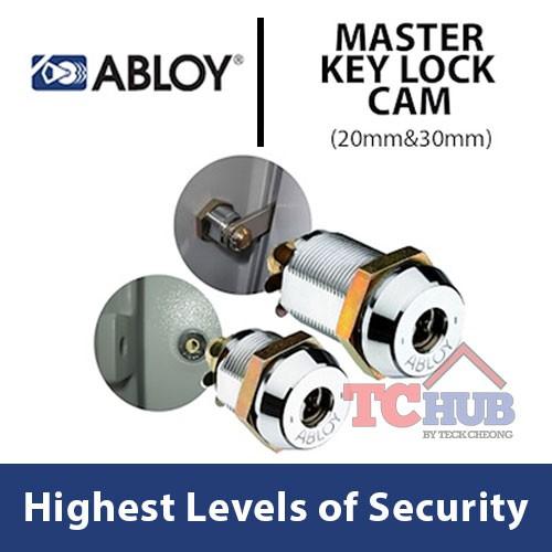 [Abloy] Master Key Lock Cam