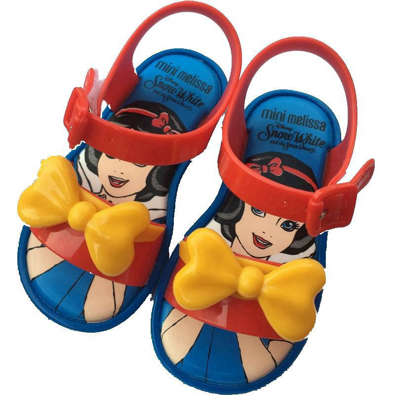 Melissa Flamingos Rain Birds Shoes Children Jelly Shoes Girl Fish Head  Sandals  b0aaadb4fd73