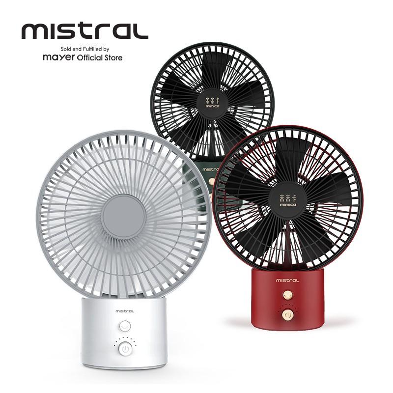 Mistral Mimica No.X Typhoon 8 Rechargeable USB Fan MRF600
