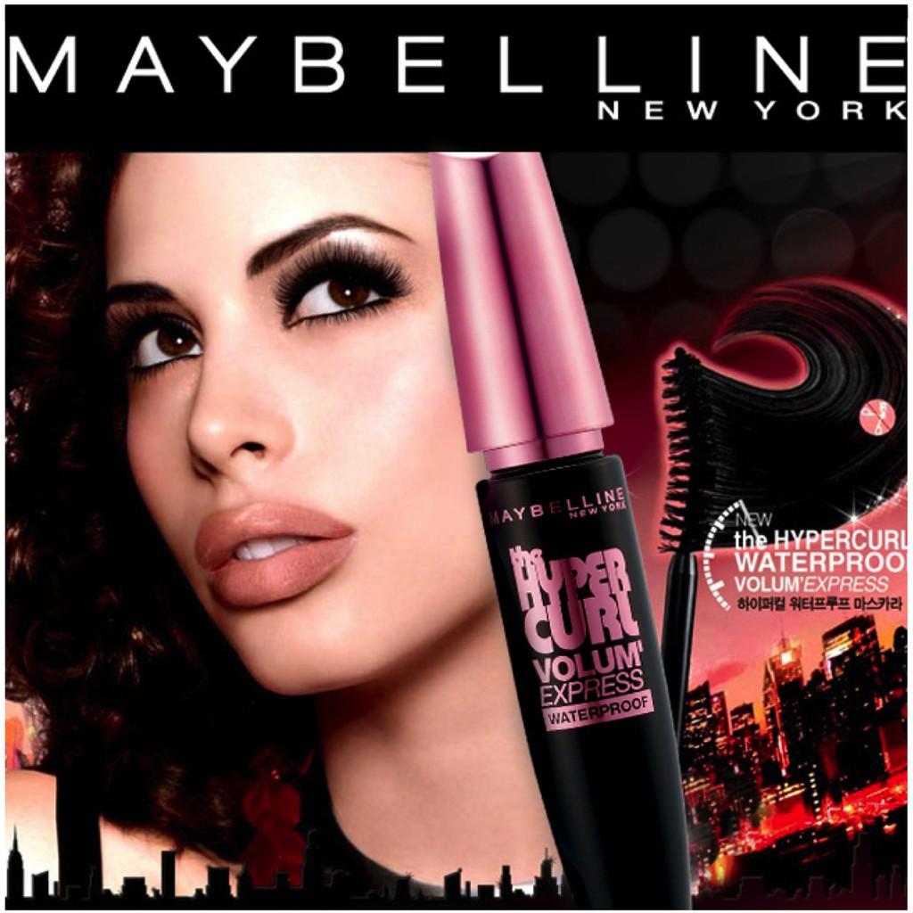 Maybelline Volum Express The Hypercurl Mascara Shopee Singapore Barbie Magnum Waterproof