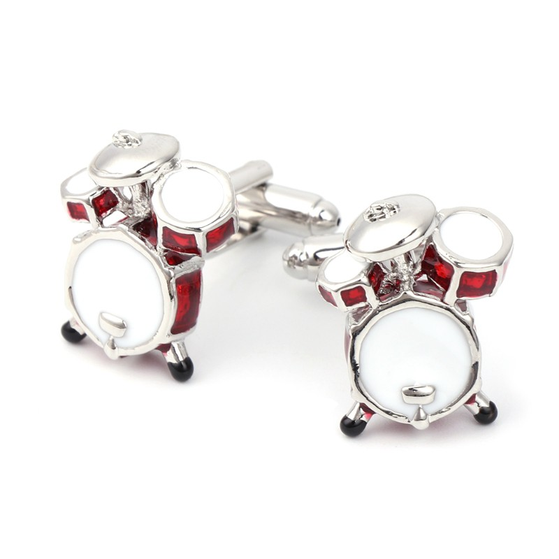 Band Cufflinks Drum Cufflinks Music Cufflinks