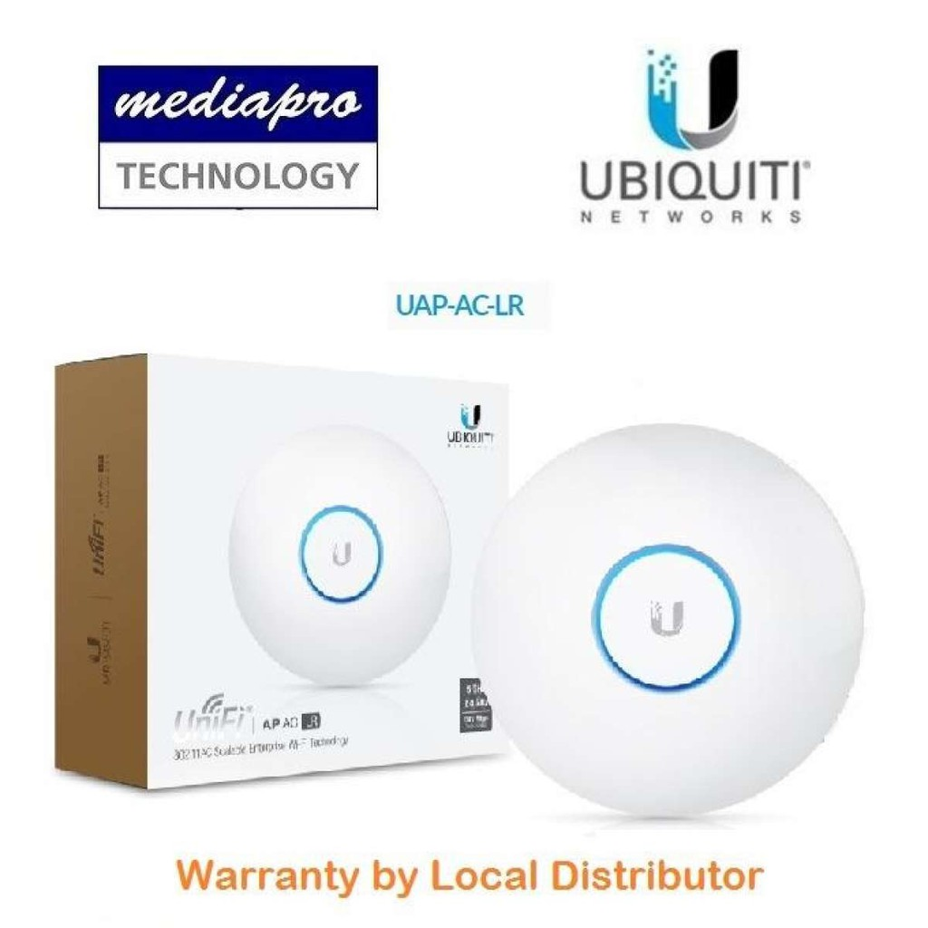 Ubiquiti Unifi Uap Ac Lr Long Range Access Point Local Distributor Ap Warranty Shopee Singapore