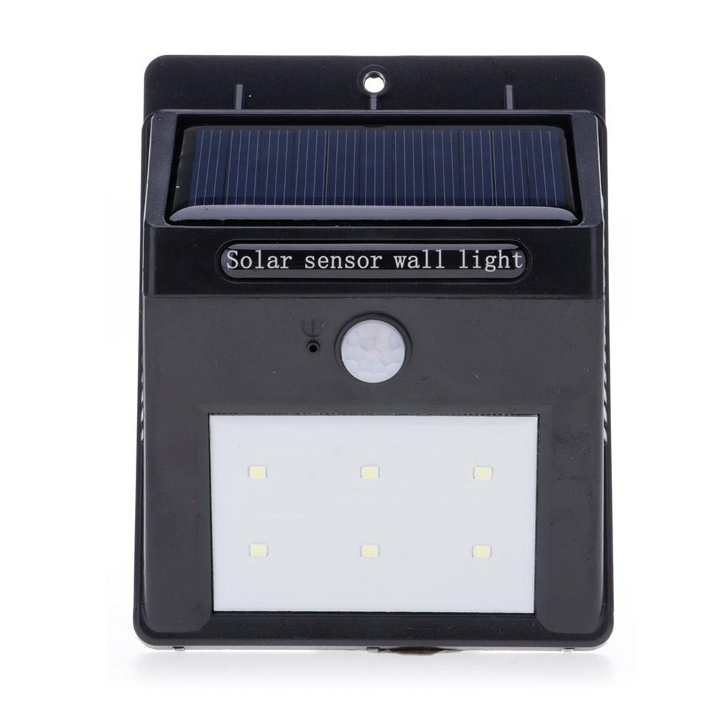 Bo 6 Led Solar Motion Sensor Light