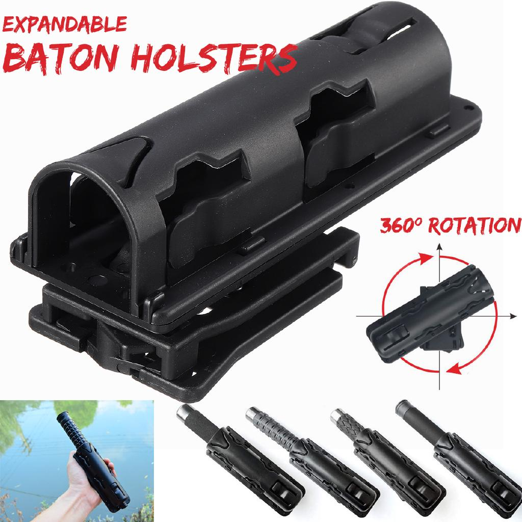 Expandable Baton Sleeve Case GAS Swivelling Telescopic Stick Stand Cover Holster