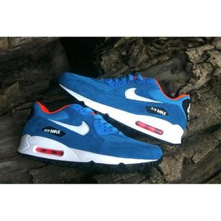 Original Nike Air Max 90 Premium Dark Electric Blue