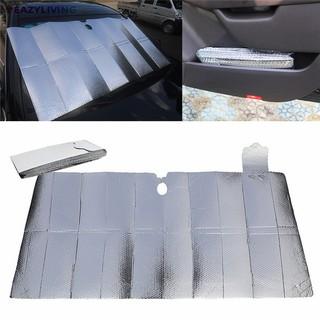 EL Car Windshield Sunshade Aluminum Foil Insulation Bubble
