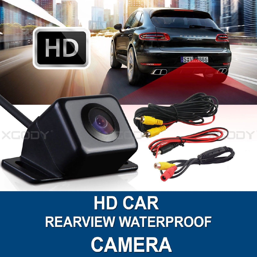 170° Night Vision Auto Car Rear View Reverse Backup Camera HD Parking Waterproof