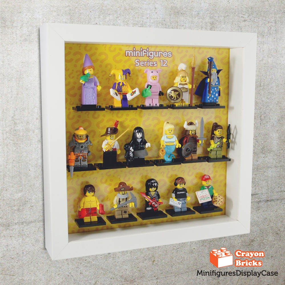 LEGO CMF Series 11 Minifigures Display Solution for IKEA Ribba Frame ...