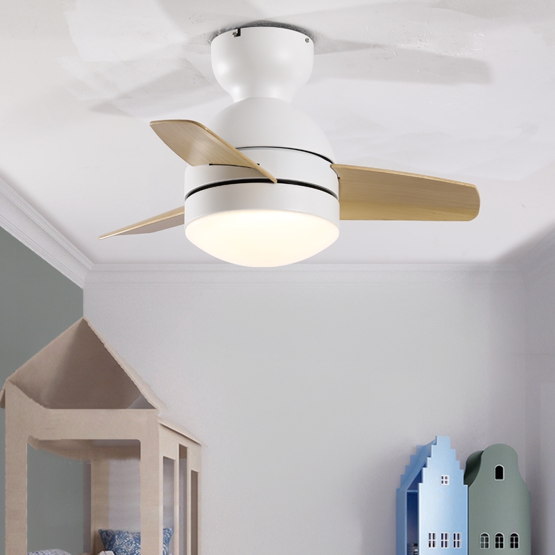 2020 26 Inch 36 Inch Ceiling Frequency Conversion Small Ceiling Fan Light Restaurant Bedroom Children S Room Nordic Mini Shopee Singapore