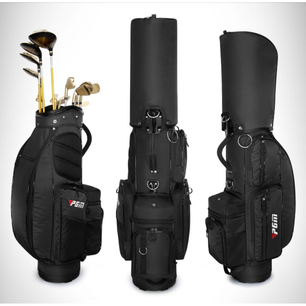 d5a6c4091cb7 Pgm Retractable Golf Bag Wheels Stand Caddy Airbag Nylon Designed ...