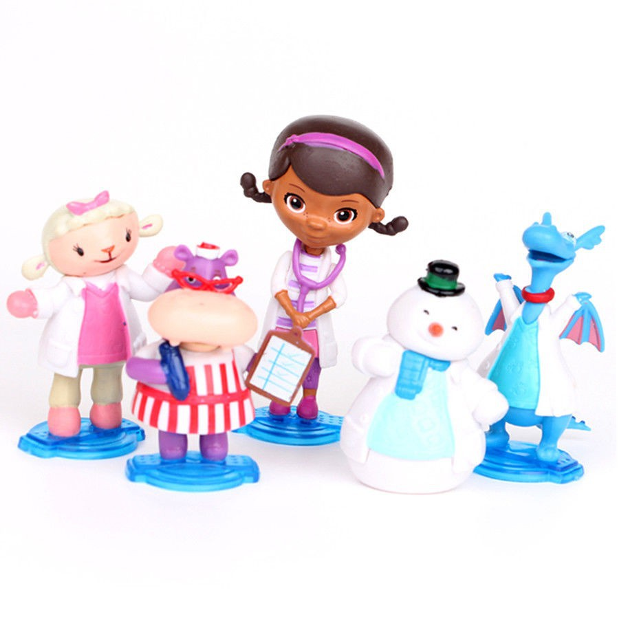 37677d8801e BNIB  Disney Doc McStuffins First Responders Backpack Set