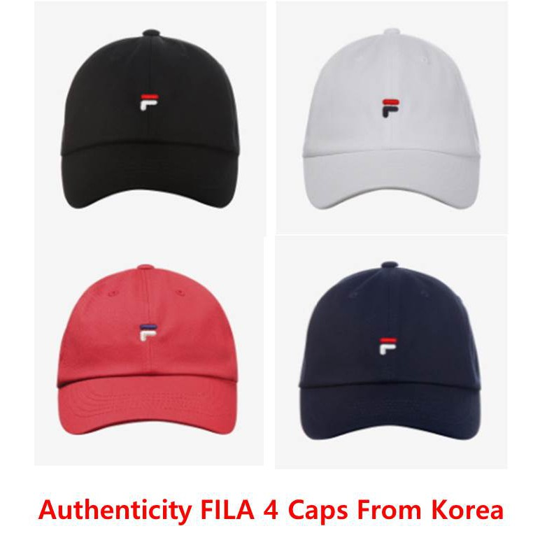 52d85669d5d FILA Unisex Embroidery Baseball Cap Adjustable Snapback Sports Hip-Hop caps  Hat