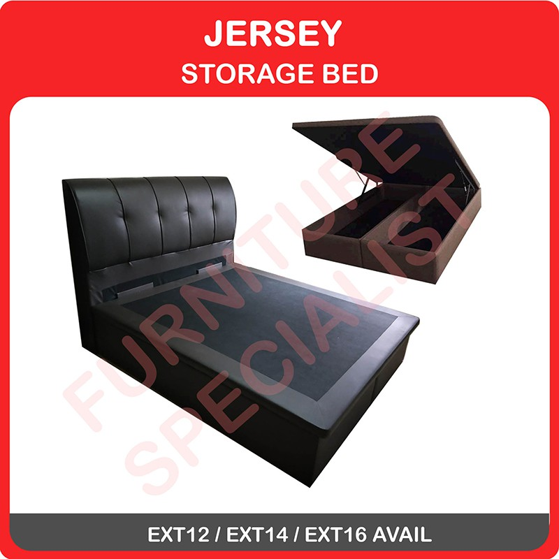 Image result for Jersey Storage Bed  shopee.sg