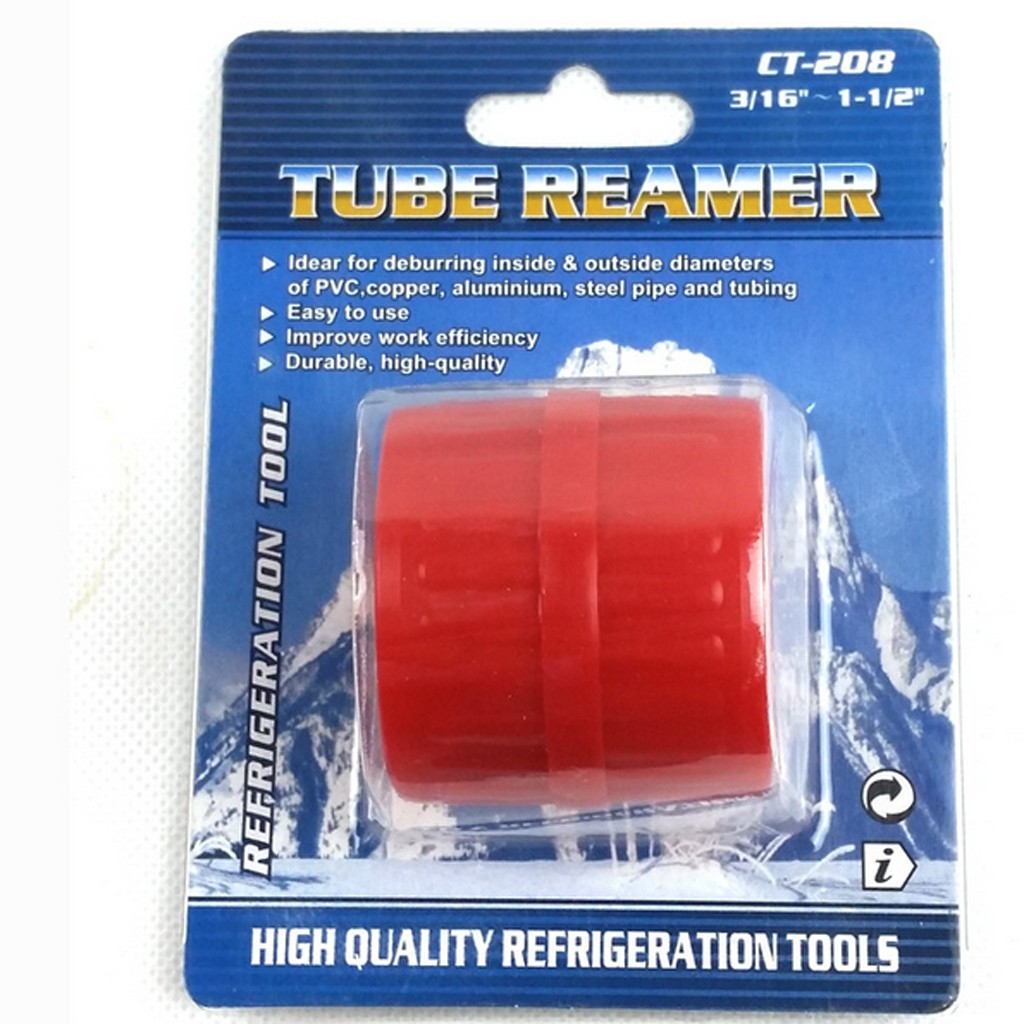 Shiwaki Deburring Tool Burrs Remover External Tube Hand Tool Reamer 5mm-42mm Red